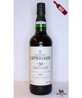Laphroaig Laphroaig 30 Years Old Extremely Rare 43% (750ml)