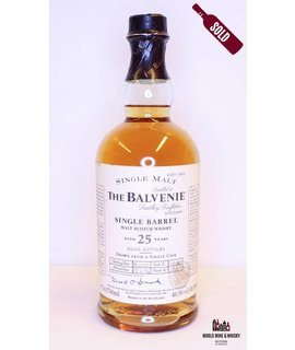 Balvenie Balvenie 25 Years Old 1974 2000 Single Barrel Cask 15180 46.9%