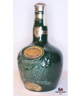 Chivas Brothers Chivas Brothers - Royal Salute - Green Ceramic Flagon Decanter 40% (700 ml)
