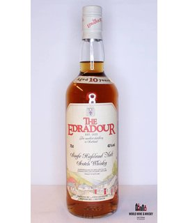 Edradour Edradour 10 Years Old - Old Label 43% (750 ml)