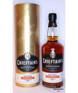 Dufftown Dufftown 14 Years Old 1987 2002 Chieftain's - Ian Macleod - Cask 9058 43%