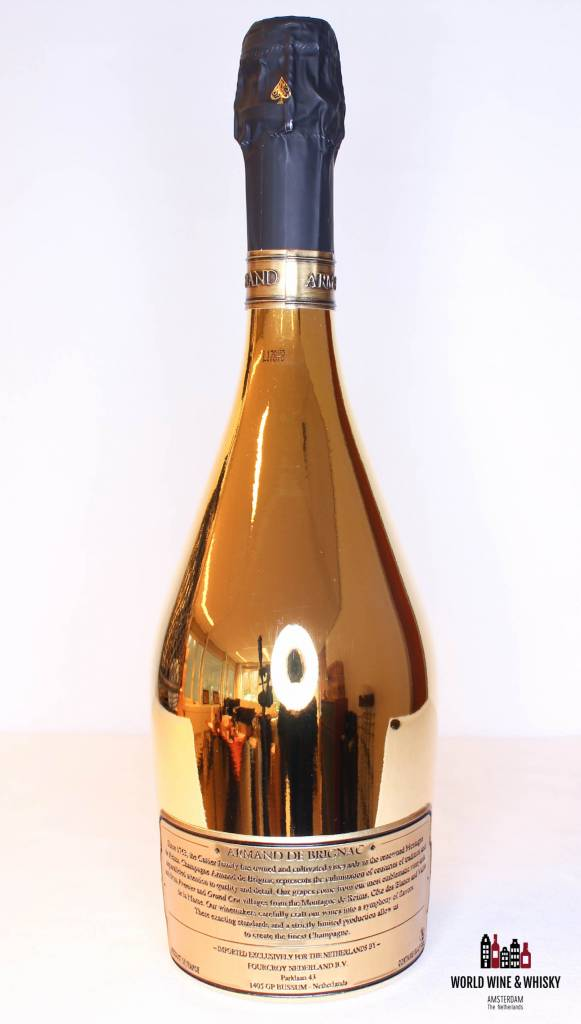 Armand de Brignac Armand de Brignac Gold Champagne Brut 12.5% 9L Salmanazar - in luxury case (9000 ml)