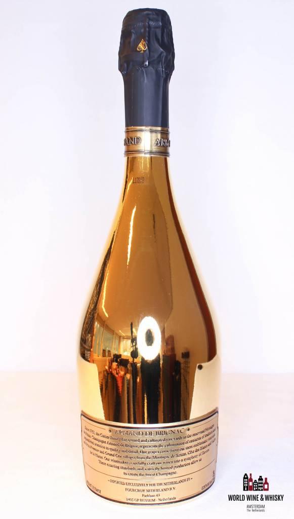 Armand de Brignac Armand de Brignac Gold Champagne Brut 12.5% 15L Nebukadnezar - in luxury case (15.000 ml)