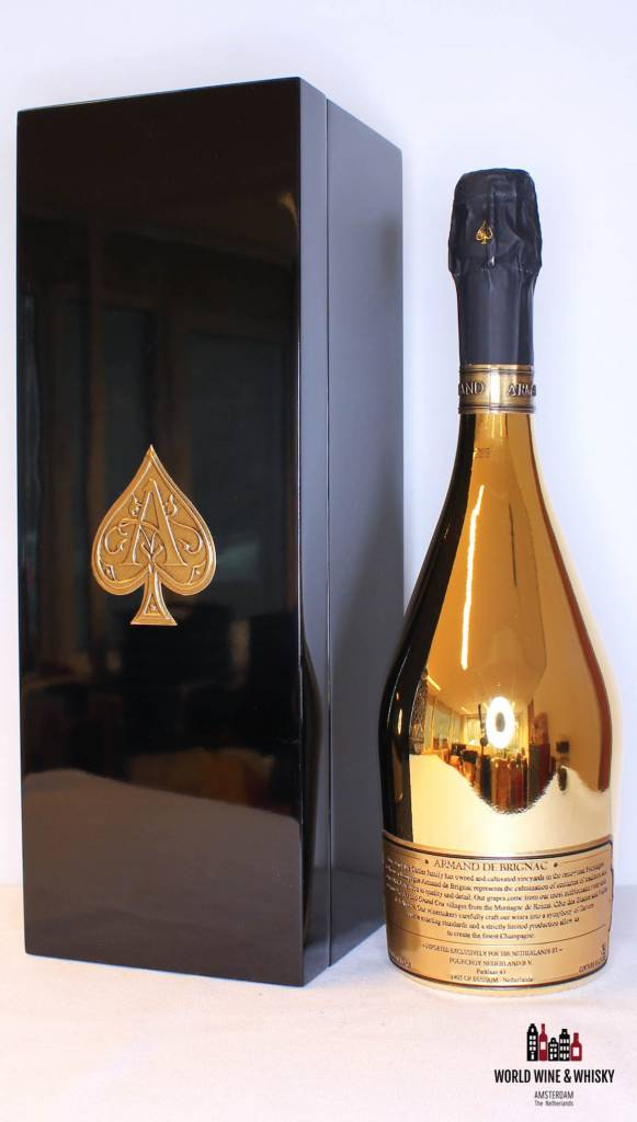 Armand de Brignac Gold Champagne Brut 12 5% 30L Melchizedek - in luxury  case (30 000 ml)