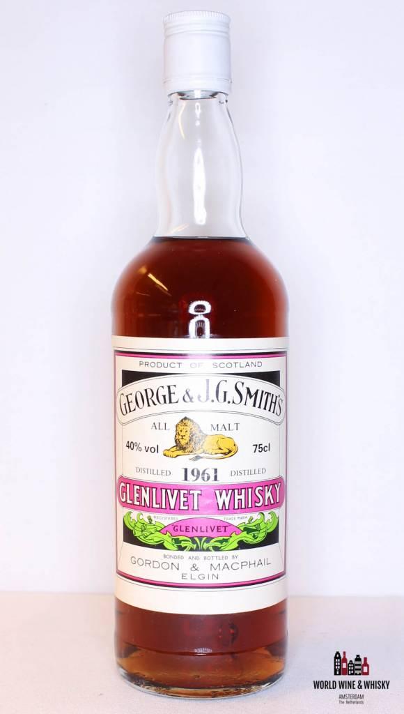 Glenlivet Glenlivet 1961 George & J.G. Smith's - Gordon & MacPhail 40%