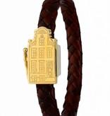 Resident Luxury golden Amsterdam canal house bracelet jewelry - Resident