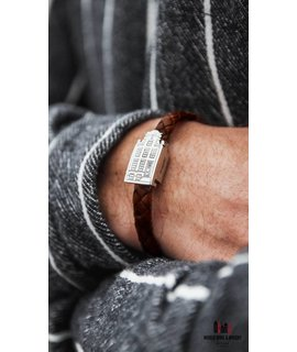 Resident Luxury silver Amsterdam canal house bracelet jewelry - Resident