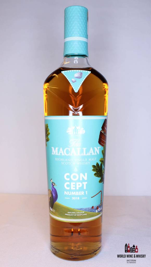 Macallan Macallan Concept Number 1 2018 40% - Travel Retail Release Only