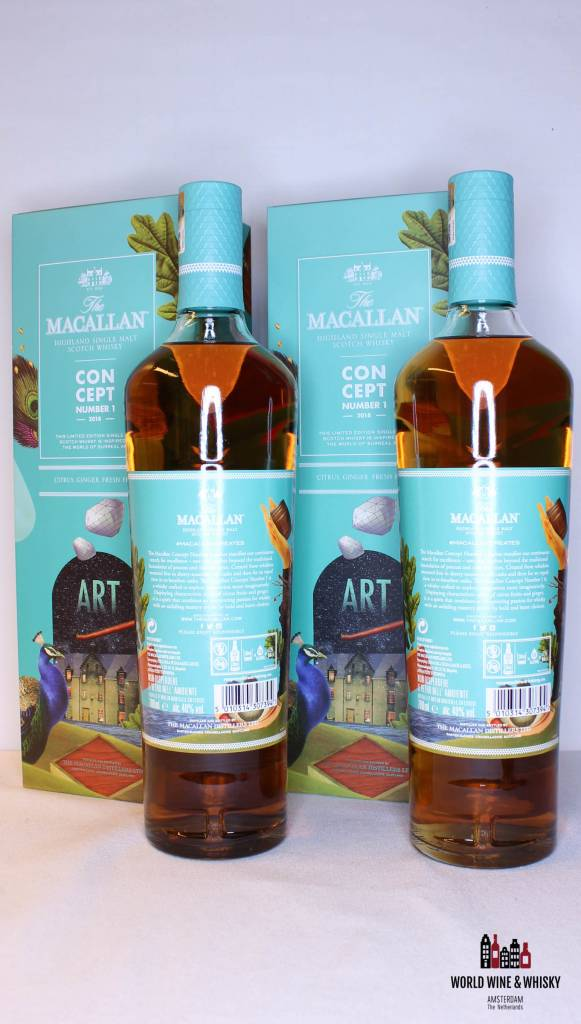 Macallan Macallan Concept Number 1 2018 40% - Travel Retail Release Only (Twin-set deal)