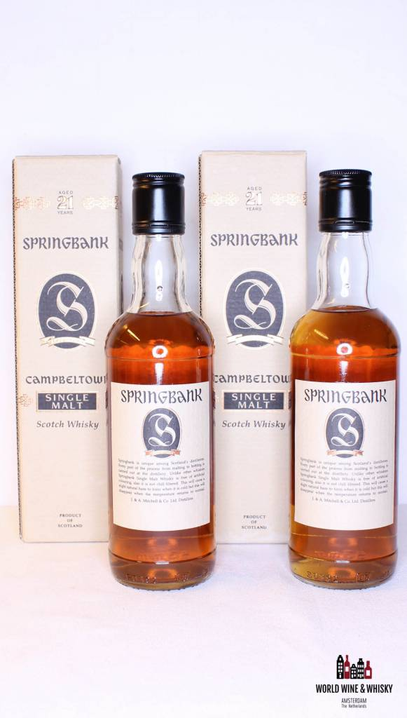 Springbank Springbank 21 Years Old - Old Bottling 46% (375 ml)