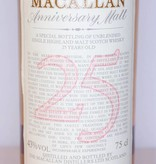 Macallan Macallan 25 Years Old 1965 1990 The Anniversary Malt 43% (750ml) 30 ml sample
