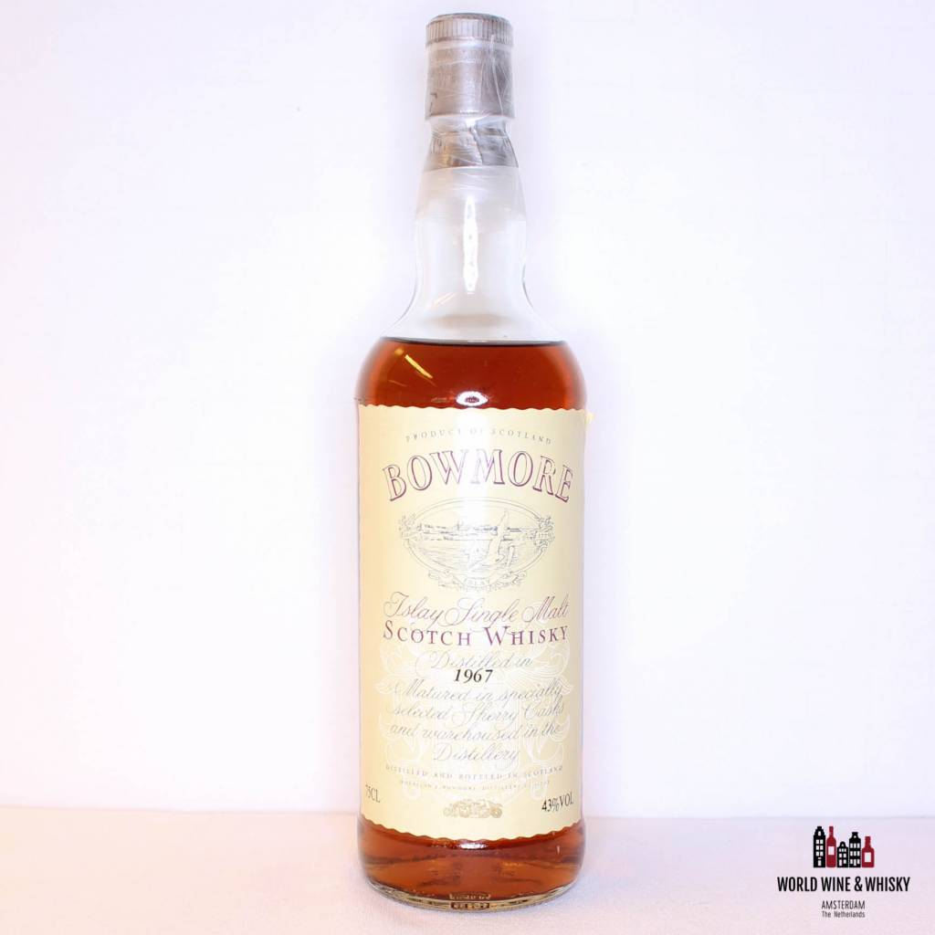 Bowmore 1967 Sherry Casks 43% (750 ml).