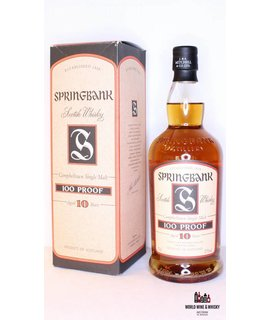 Springbank Springbank 10 Years Old 100 Proof 57% (Dutch Bottling)