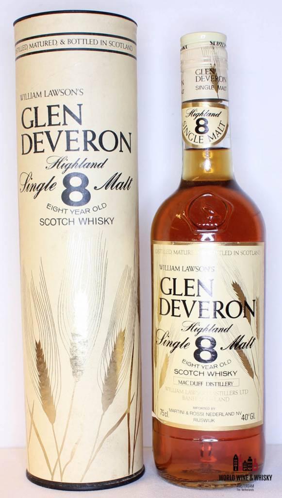 Glen Deveron Glen Deveron 8 Years Old William Lawson's 750ml 40% (Macduff Distillery)