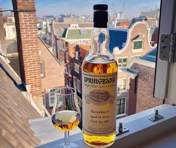 Springbank 24 Years Old 1993 2017 Cask 409 Florentine's 49%