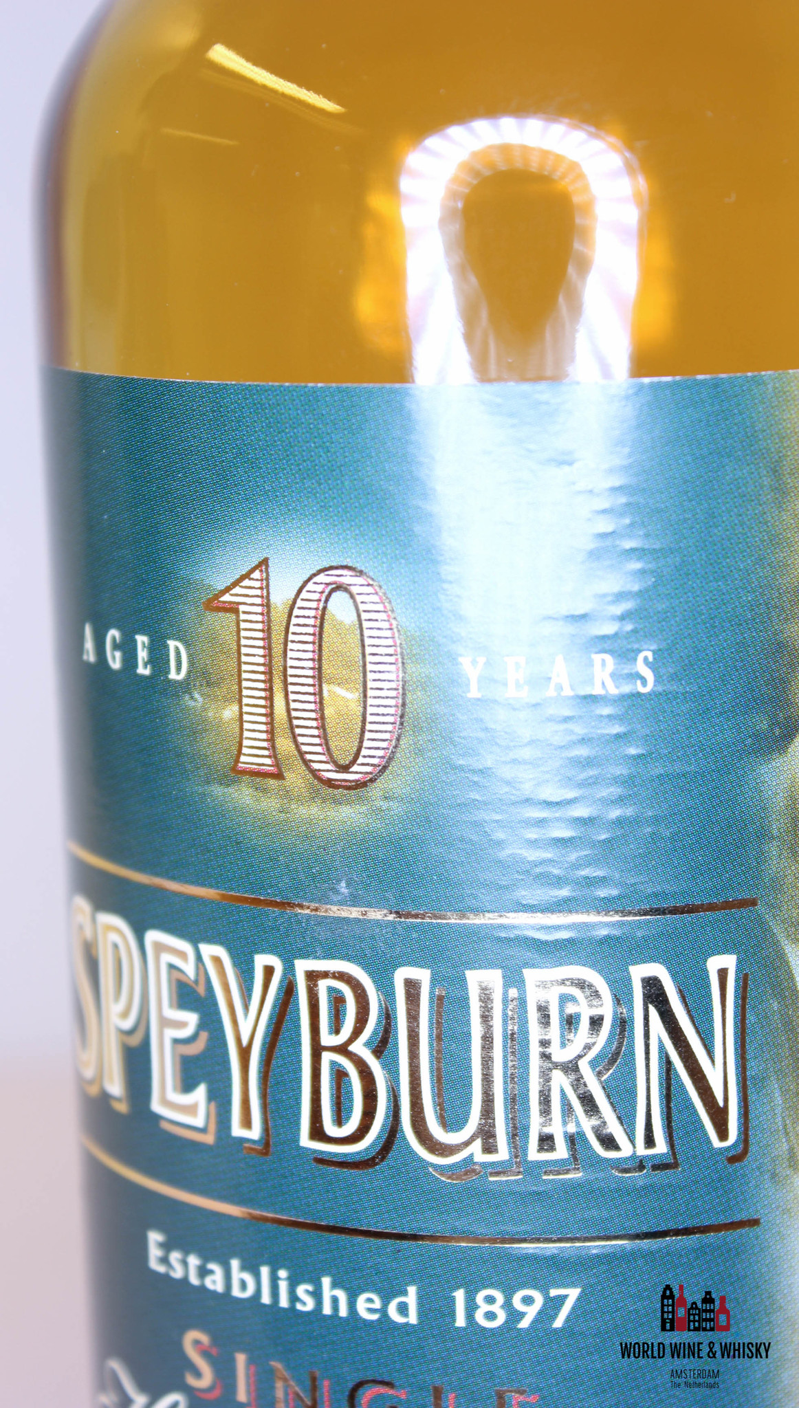 Speyburn Speyburn 10 Years Old - Fish Edition 40% (700ml)