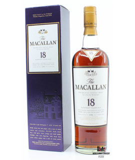 Macallan Macallan 18 Years Old 1990 2008 Sherry Oak 43%