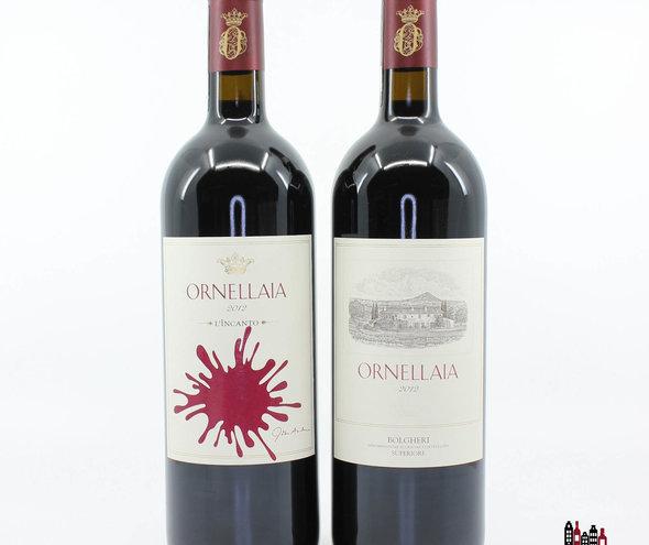 The Ornellaia L'Incanto 2012 Bolgheri Superiore.