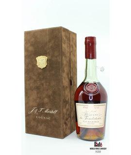J & F Martell J & F Martell 1694 1753 Reserve du Fondateur Cognac 44% (Jean Martell)