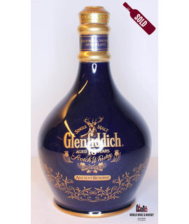 Glenfiddich Glenfiddich 18 Years Old - Ancient Reserve - Blue ceramic decanter 43%