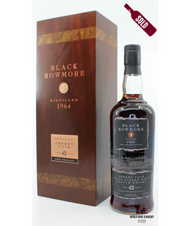 Bowmore Bowmore Black 42 Years Old 1964 2007 Sherry Cask 40.5%