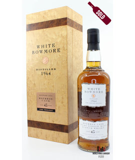 Bowmore Bowmore White 43 Years Old 1964 2008 42.8%