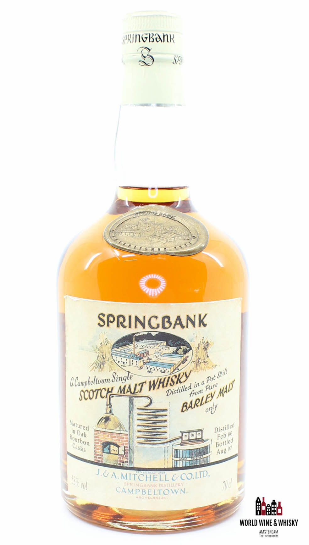 Springbank Springbank 31 Years Old 1966 1997 Local Barley 1966-486 53%