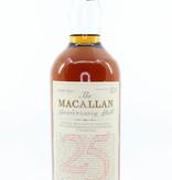 Macallan Macallan 25 Years Old Anniversary Malt 1962 1987 43% 750ml