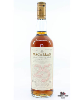 Macallan Macallan 25 Years Old Anniversary Malt 1962 1987 43% 750ml