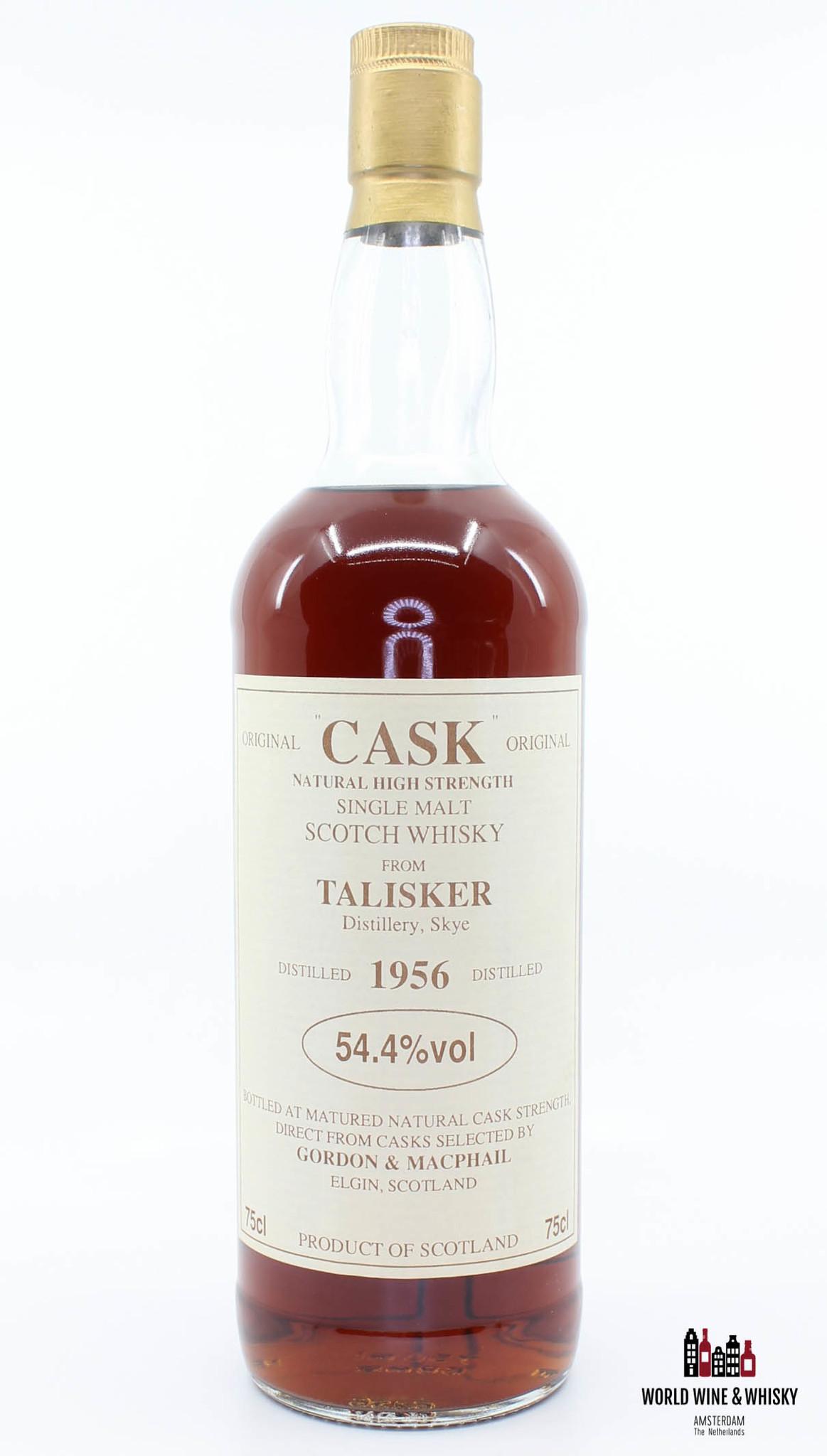 Talisker Talisker 1956 Original Cask - Natural High Strength - Gordon & Macphail 54.4%