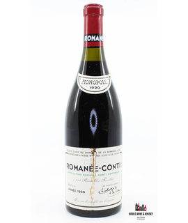 Domaine de la Romanée Conti Domaine de la Romanée Conti (DRC) - Romanée-Conti 1990 - Inspected by Chai Consultant/WineFraud