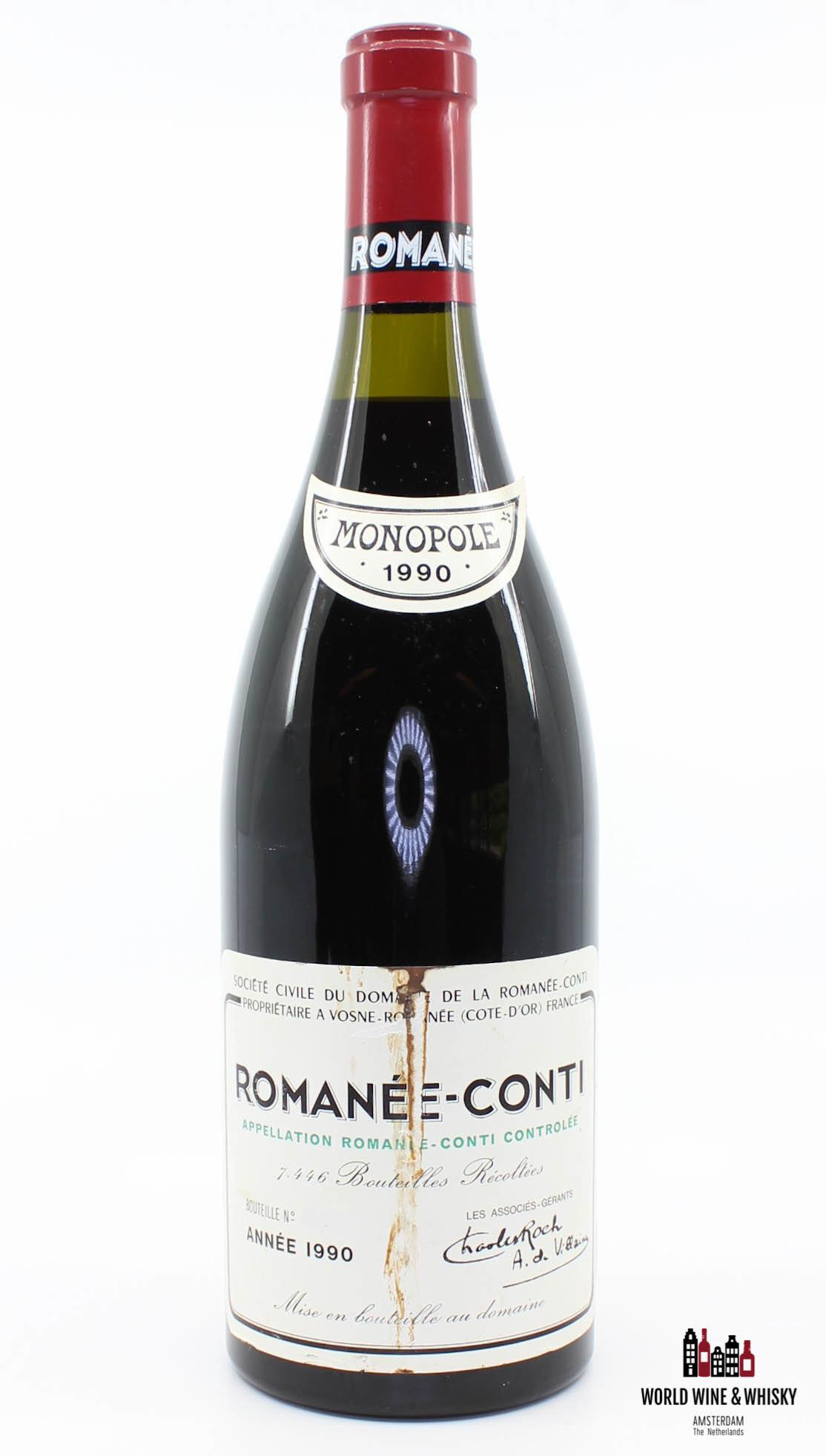 Domaine de la Romanée Conti Domaine de la Romanée Conti Romanée-Conti 1990 (DRC)