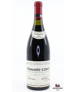 Domaine de la Romanée Conti Domaine de la Romanée Conti Romanée-Conti 1992 (DRC) -Inspected by Chai Consultant/WineFraud