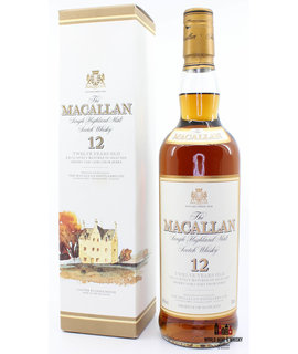Macallan Macallan 12 Years Old Sherry Oak Casks From Jerez 40% (old label)