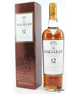 Macallan Macallan 12 Years Old Sherry Oak Casks from Jerez 40% (new label)