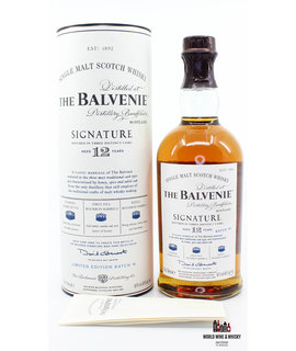 Balvenie Balvenie 12 Years Old Signature Batch #4 - Three Distinct Casks 40%