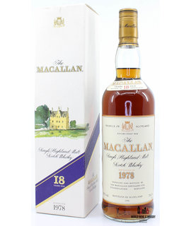 Macallan Macallan 18 Years Old 1978 1996 Sherry Wood 43% (750 ml)