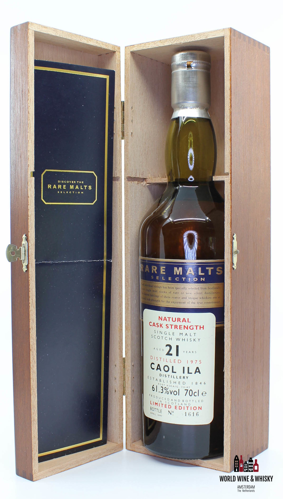 Caol Ila Caol Ila 21 Years Old 1975 1997 Rare Malts Selection 61.3% (in wooden box)