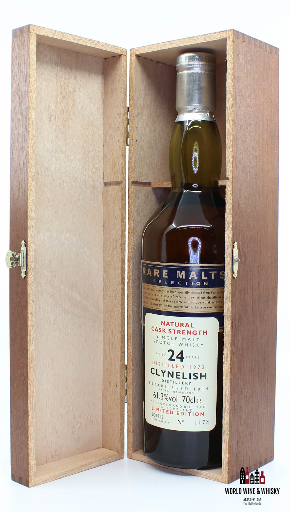 Clynelish Clynelish 24 Years Old 1972 1997 Rare Malts Selection 61.3% (in wooden box)