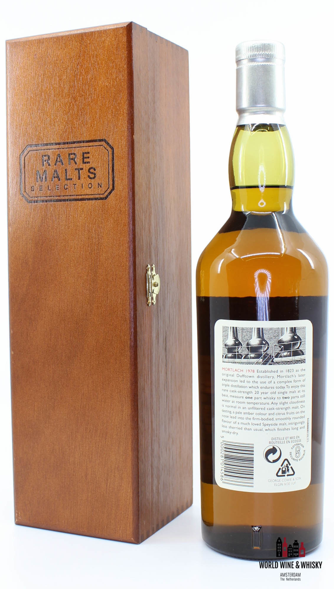 Mortlach Mortlach 20 Years Old 1978 1998 Rare Malts Selection 62.2% (in wooden box)