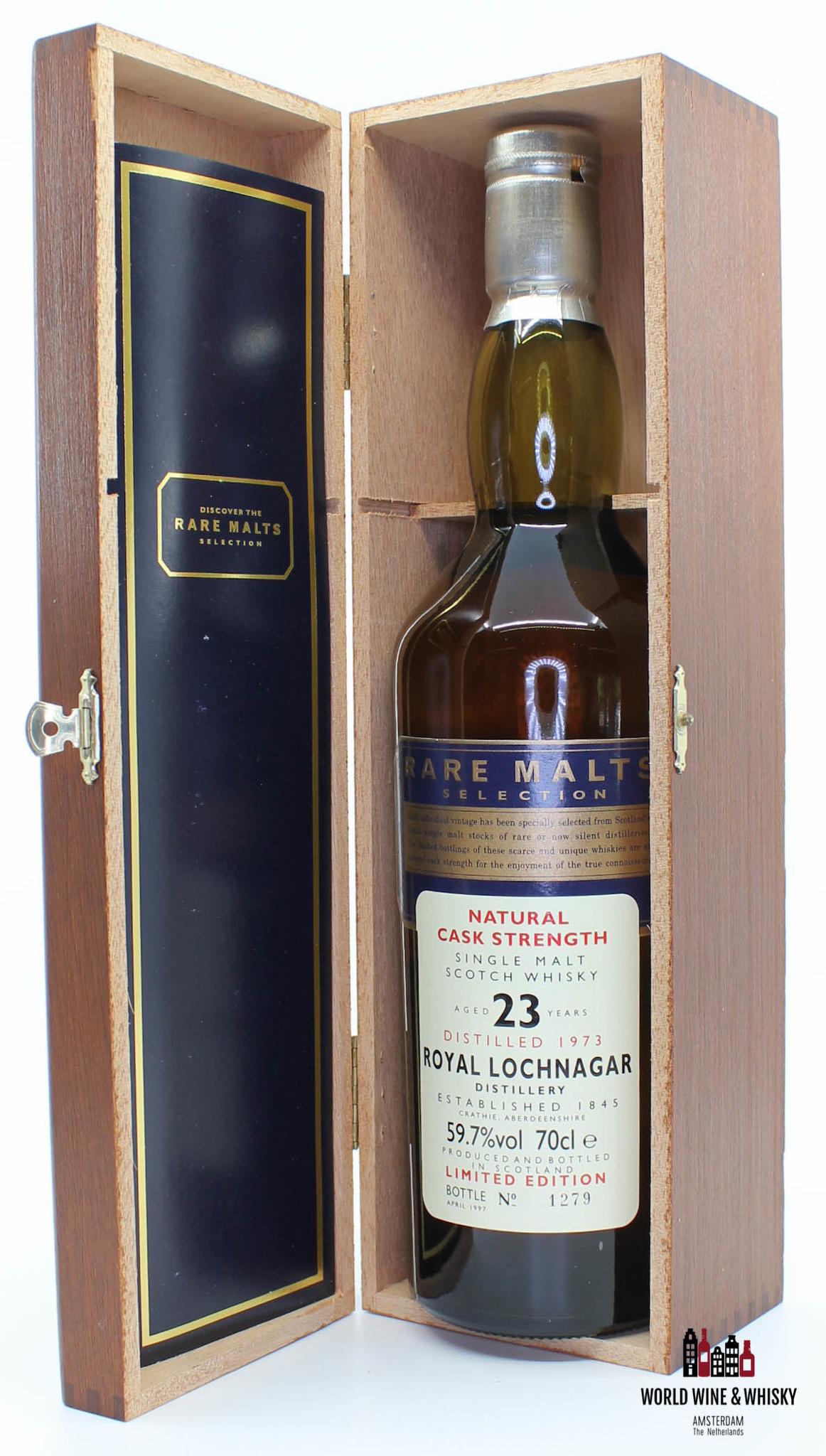 Royal Lochnagar Royal Lochnagar 23 Years Old 1973 1997 Rare Malts Selection 59.7% (in wooden box)