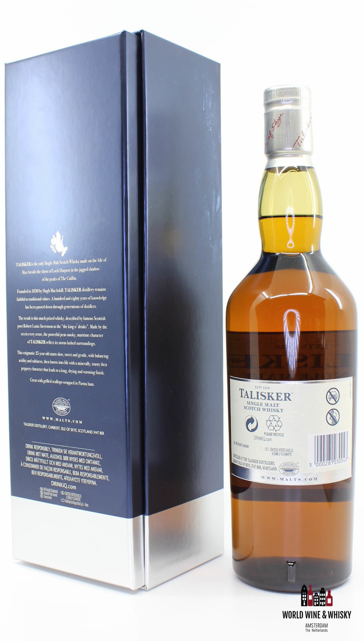 Talisker Talisker 25 Years Old 2017 Made by the Sea 45.8%
