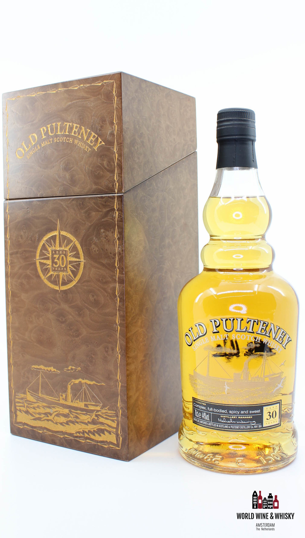 Old Pulteney Old Pulteney 30 Years Old 2009 44% (in luxury case)