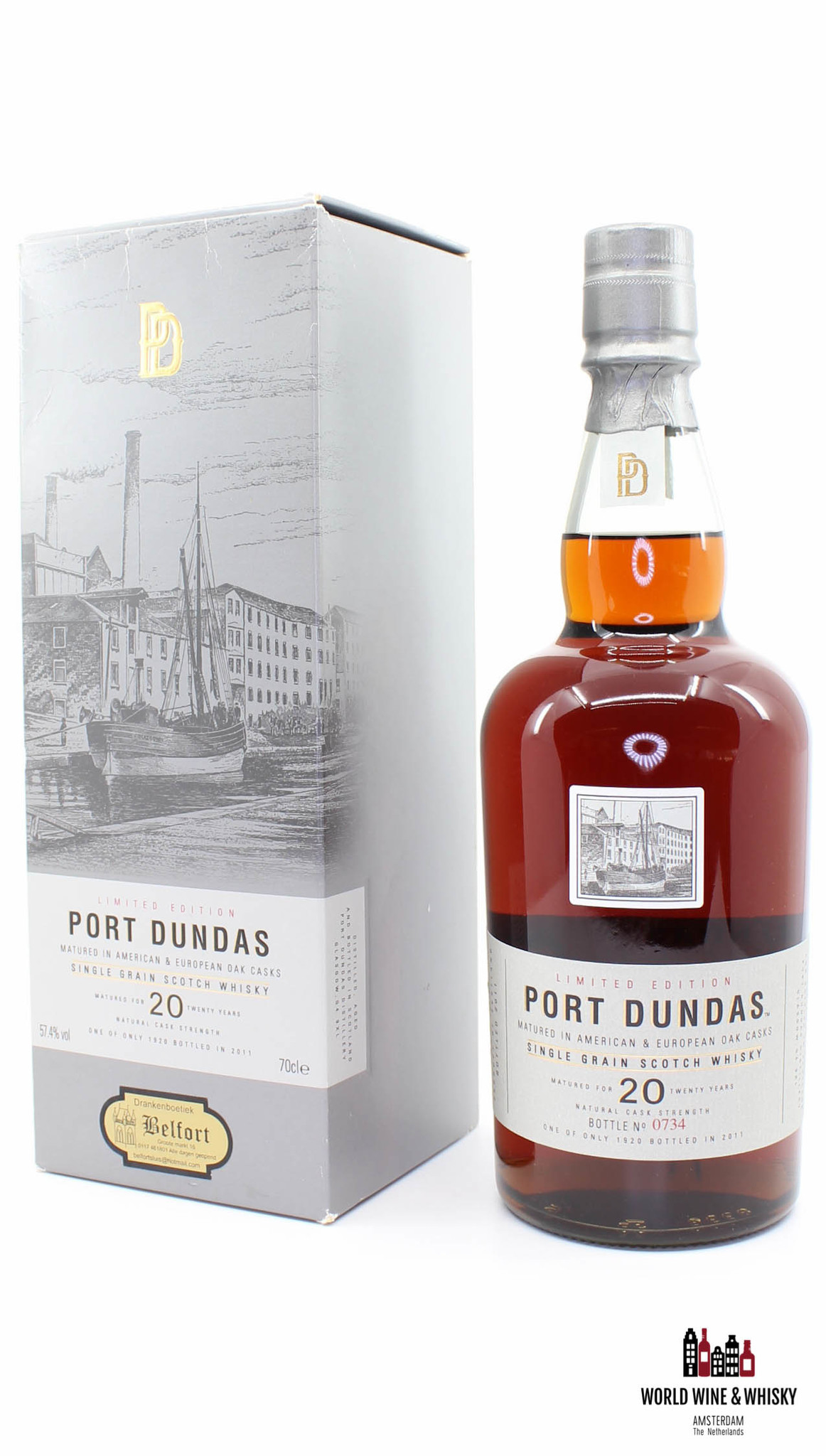 Port Dundas Port Dundas 20 Years Old 1990 2011 Limited Edition 57.4%