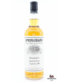 Springbank Springbank 24 Years Old 1993 2017 Cask 409 Florentine's 49% (Private Bottling)