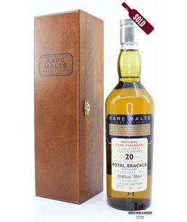 Royal Brackla Royal Brackla 20 Years Old 1978 1998 Rare Malts Selection 59.8% (in wooden box)