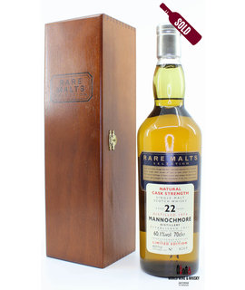 Mannochmore Mannochmore 22 Years Old 1974 1997 Rare Malts Selection 60.1% (in wooden box)