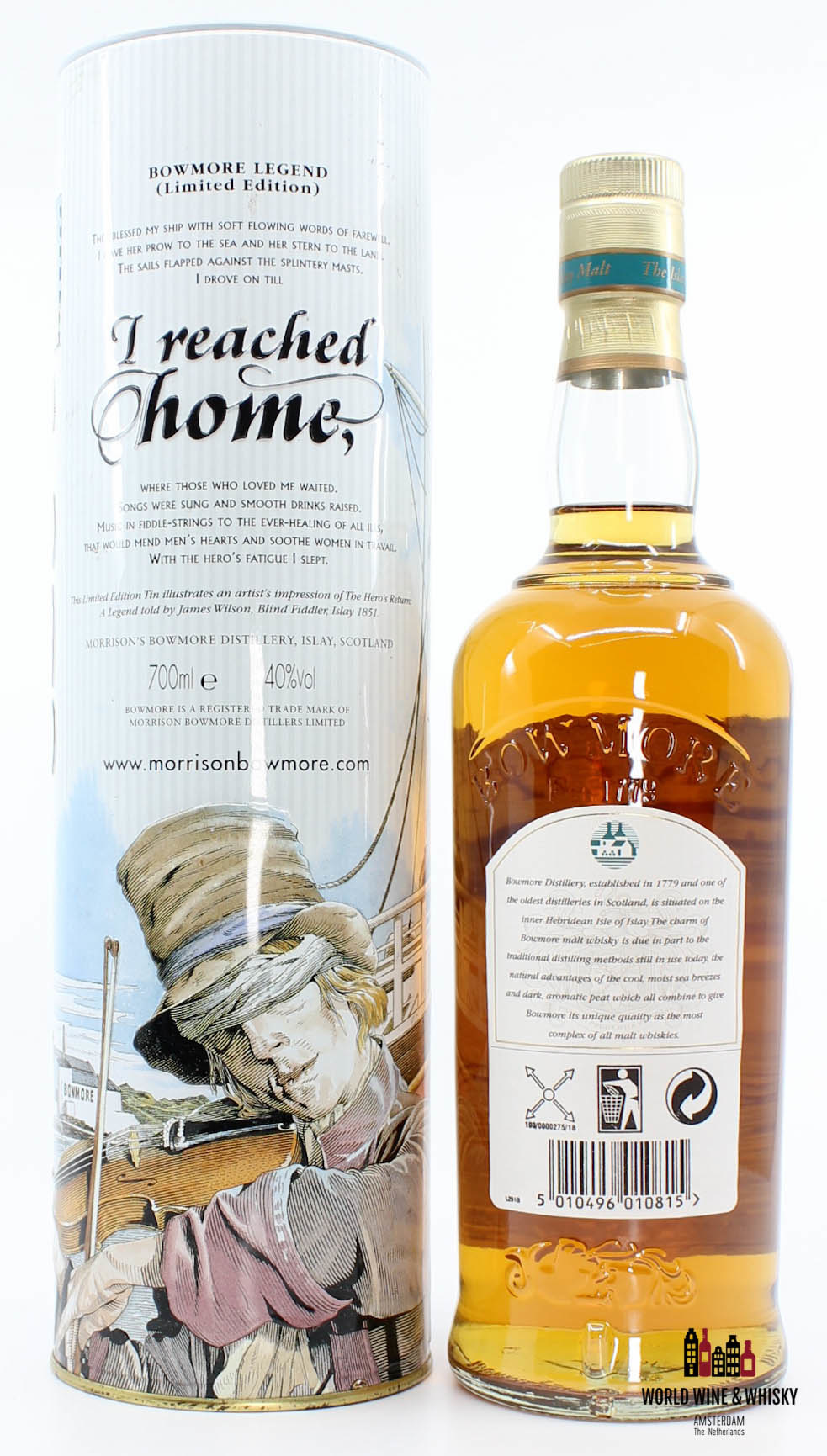 Bowmore Bowmore Legend - The Hero's Return 2002 40%