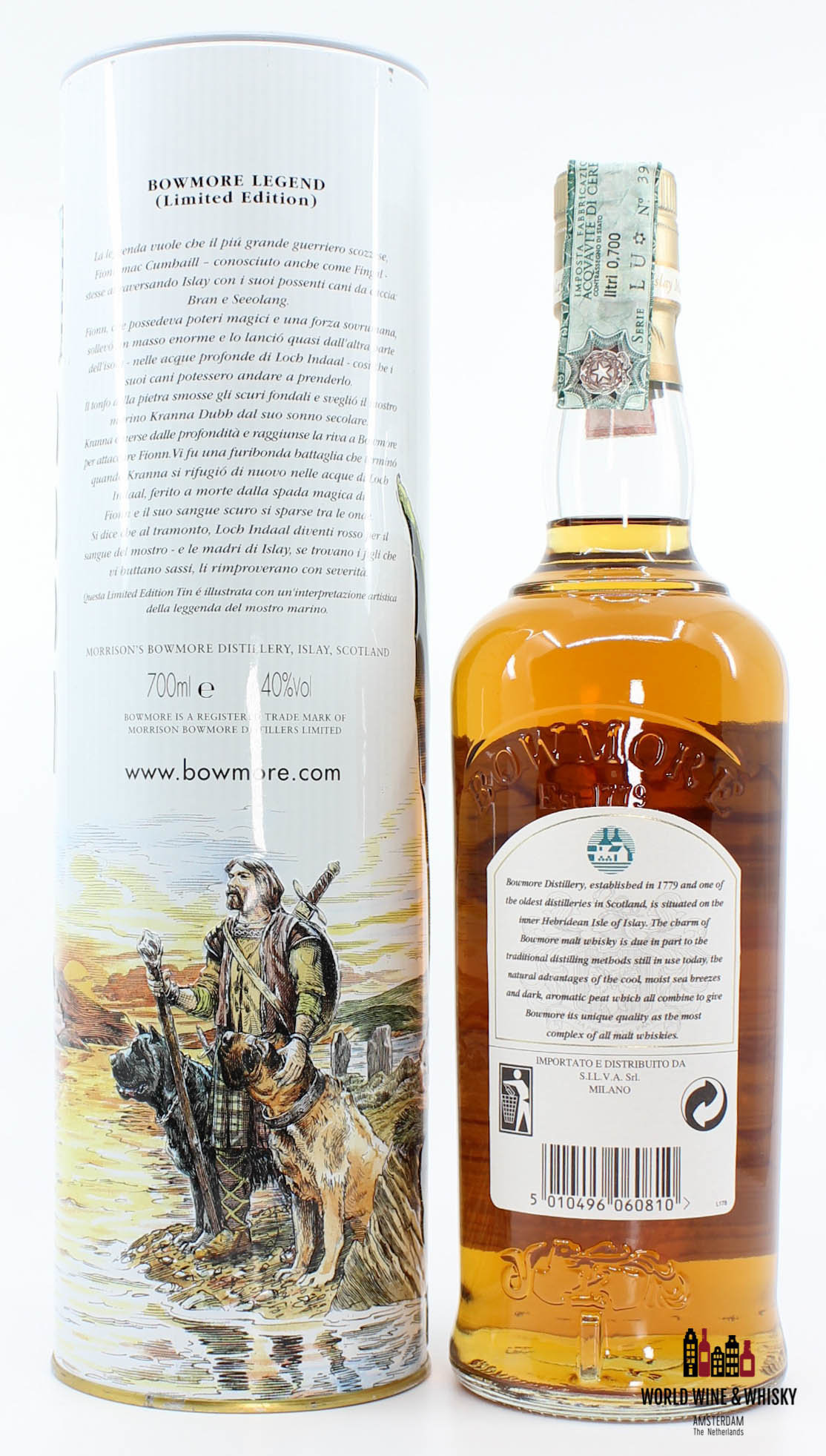 Bowmore Bowmore Legend 8 Years Old - The Sea Dragon 2003 40%