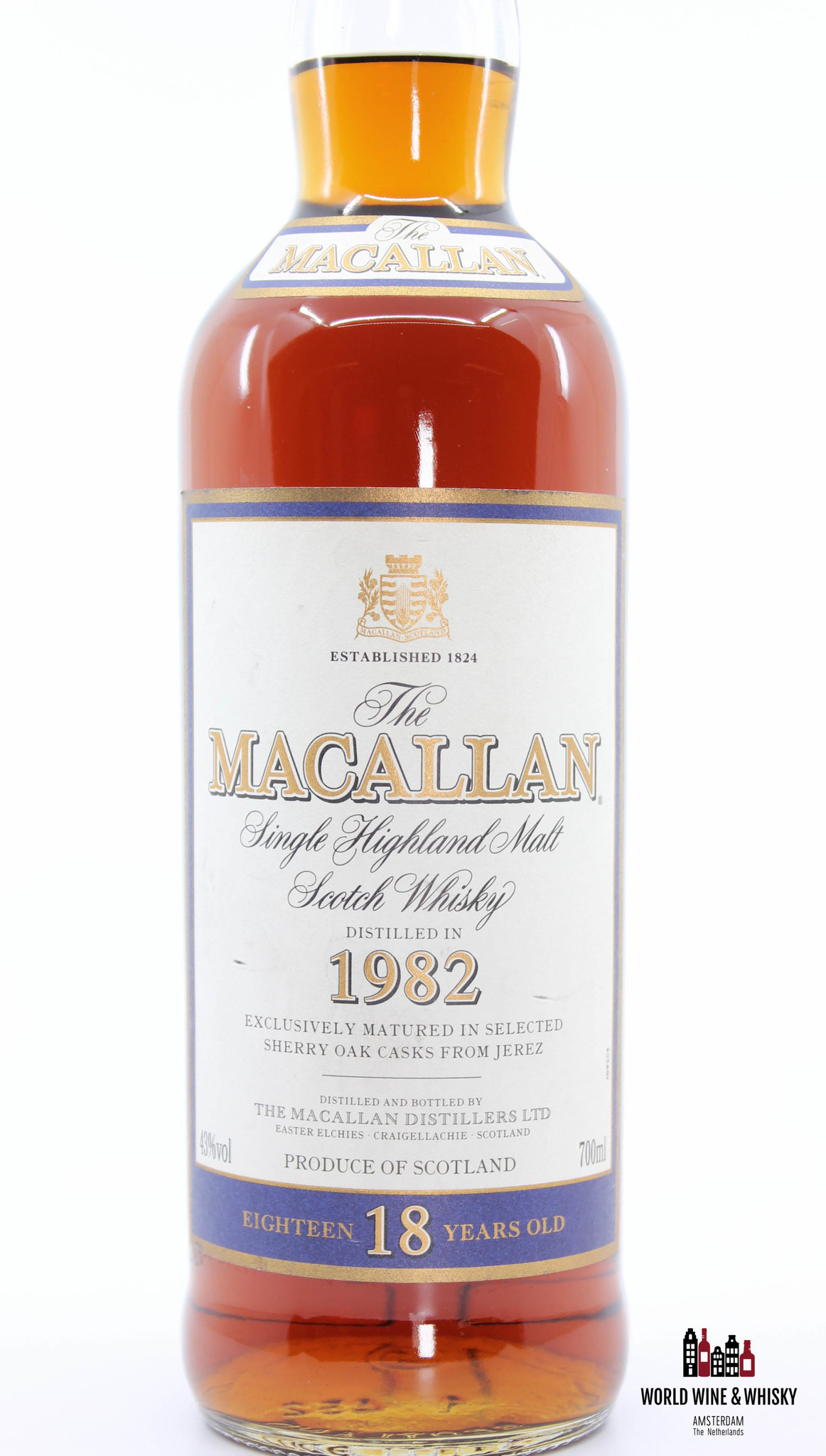 Macallan Macallan 18 Years Old 1982 2000 Sherry Oak Casks 43%